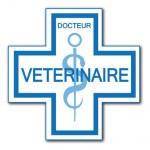 Caducée vétérinaire.