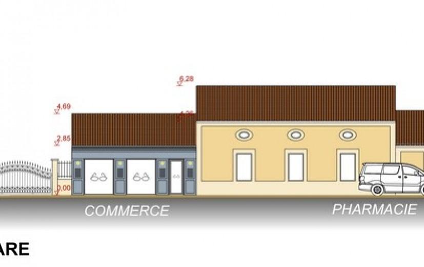 Plan du bâtiment pluri-services