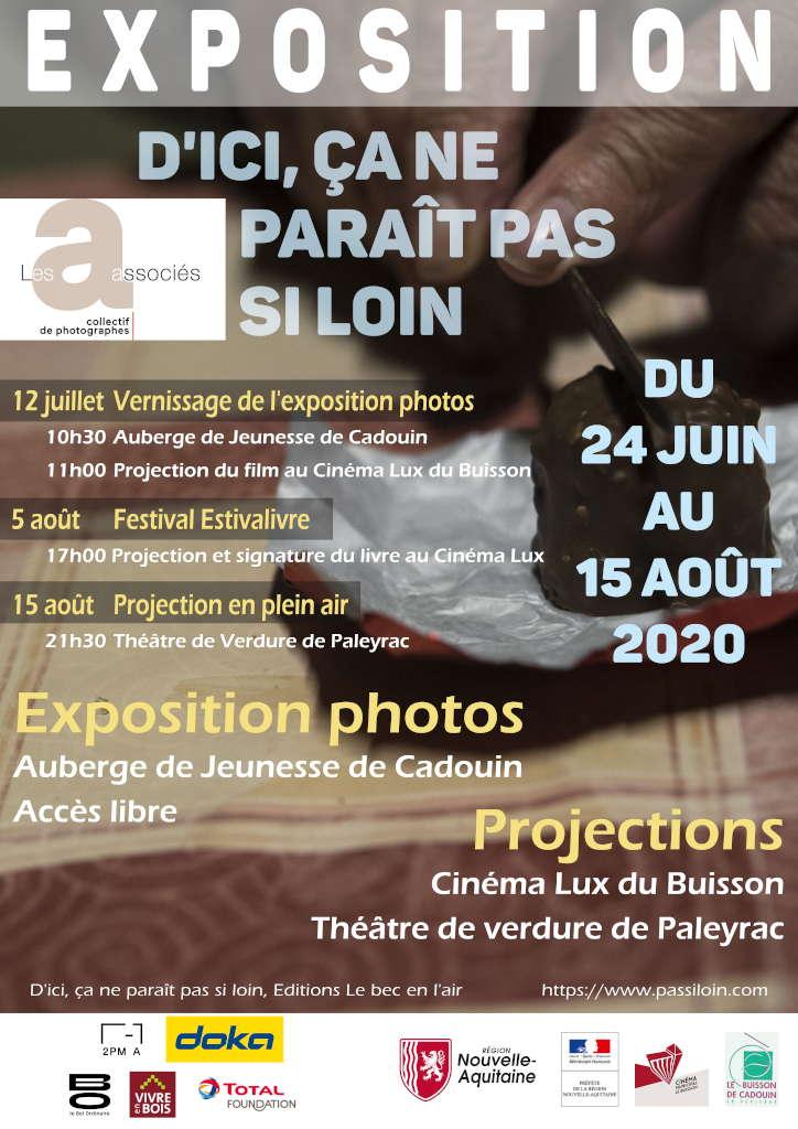 Affiche exposition photos