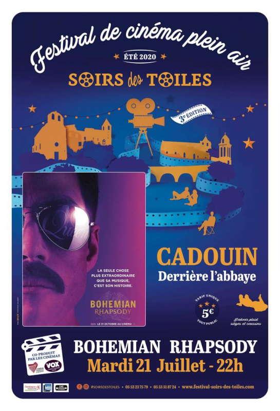 Cinéma de plein air - Cadouin - 21/07/2020 - Bohemian Rhapsody