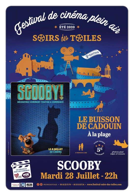 Cinéma de plein air - Le Buisson de Cadouin - 28/07/2020 - Scooby