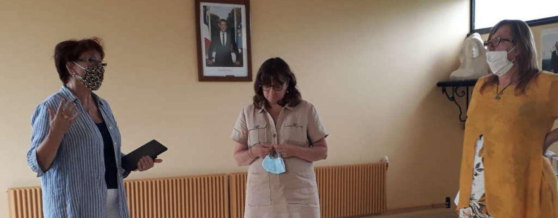 Visite de Mme la sous-préfète de Bergerac