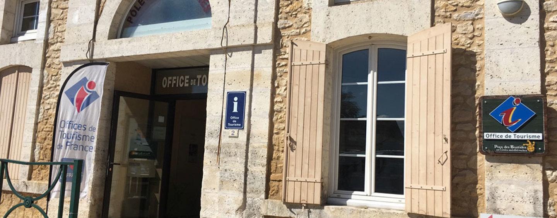 Office de Tourisme: nouveaux horaires