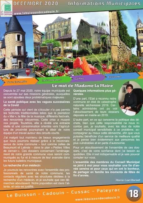 Nouvelle édition du bulletin municipal