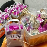 Distribution de chocolats