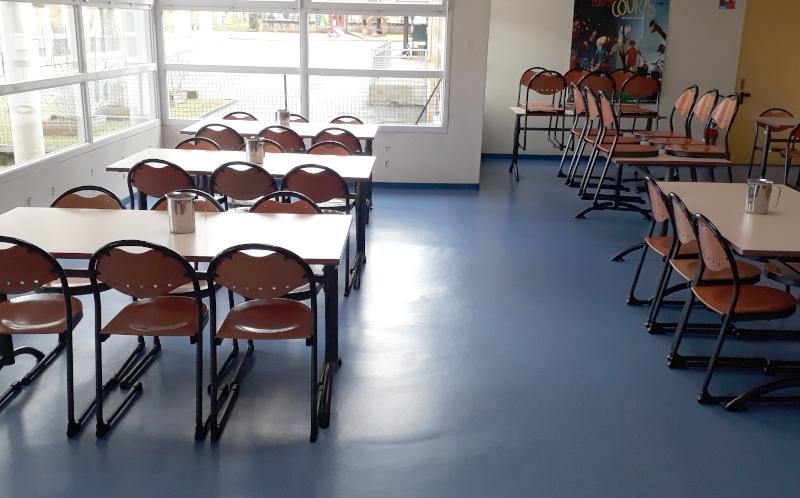 Distanciation physique des tables