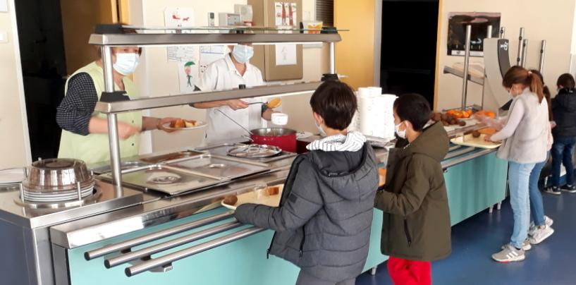 La cantine scolaire et le nouveau protocole sanitaire