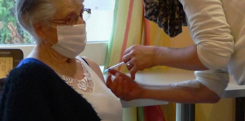 Vaccination des aînés à la Marpa