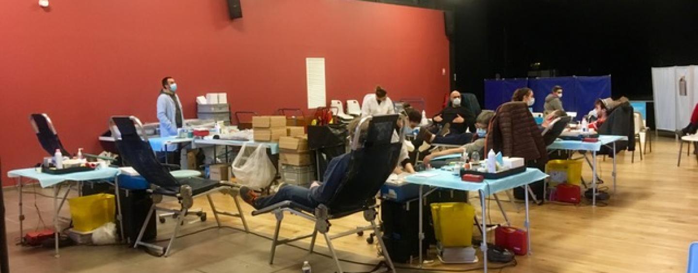 Collecte de sang au PAC