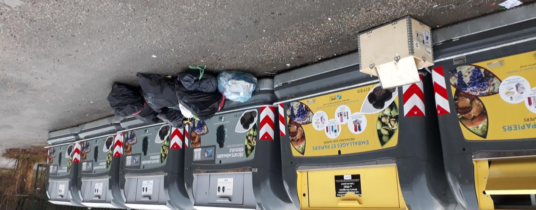 Incivilités aux points de collecte des déchets