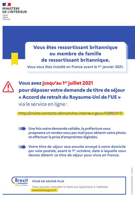 Jusqu'au 1er juillet pour déposer les demandes de titres de séjours