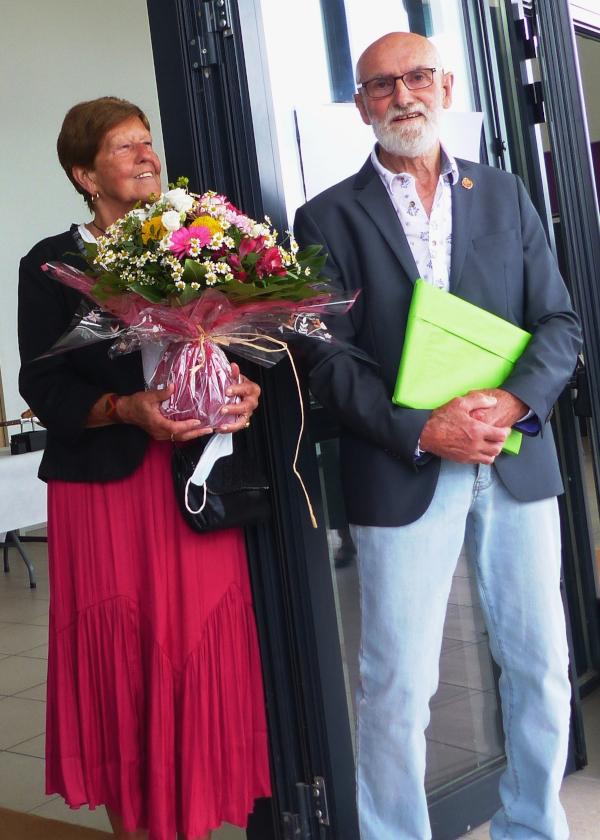Lucien Meynard et sa femme Luce