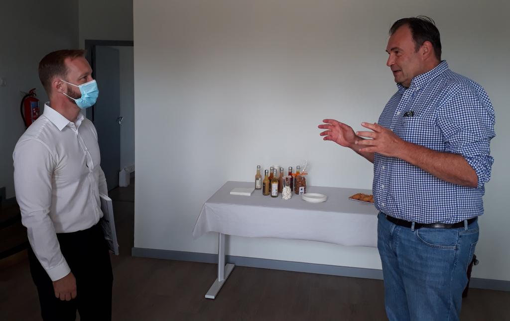 Visite de la société Opure présentée par Matthieu Praderie