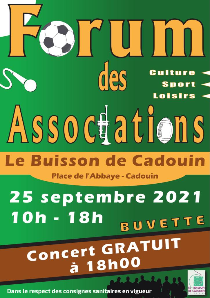 2021-09-25.Forum des Associations.Affiche